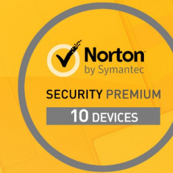 Norton Security PREMIUM 10 PC / 1Rok