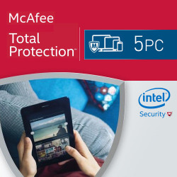 McAfee Total Protection 2019 KEY 5 PC