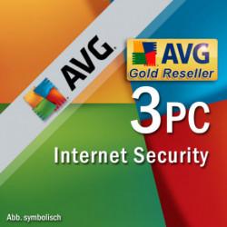 AVG Internet Security 3 PC 2018 Odnowienie