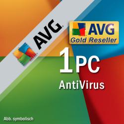 AVG Antivirus PL 2018 1 PC/ 1 ROK