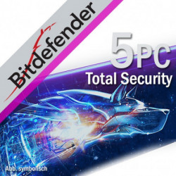 BitDefender Total Security 2018 5 PC