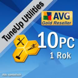 AVG PC TuneUp 10PC 2018 1rok
