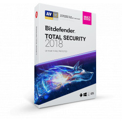 Bitdefender Total Security Multi-Device 10PC/2Lata