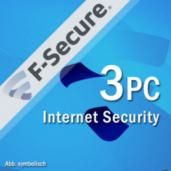 F-Secure Internet Security 3PC/2Lata