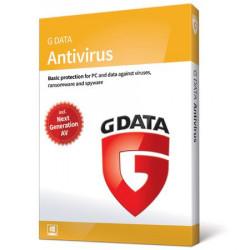 G Data AntiVirus 2PC/3Lata