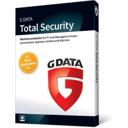 G Data Total Security 2019 (Protection) 2PC/1rok